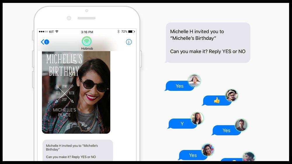 Send invites and get rsvps via text message work pinterest send invites and get rsvps via text message stopboris Choice Image