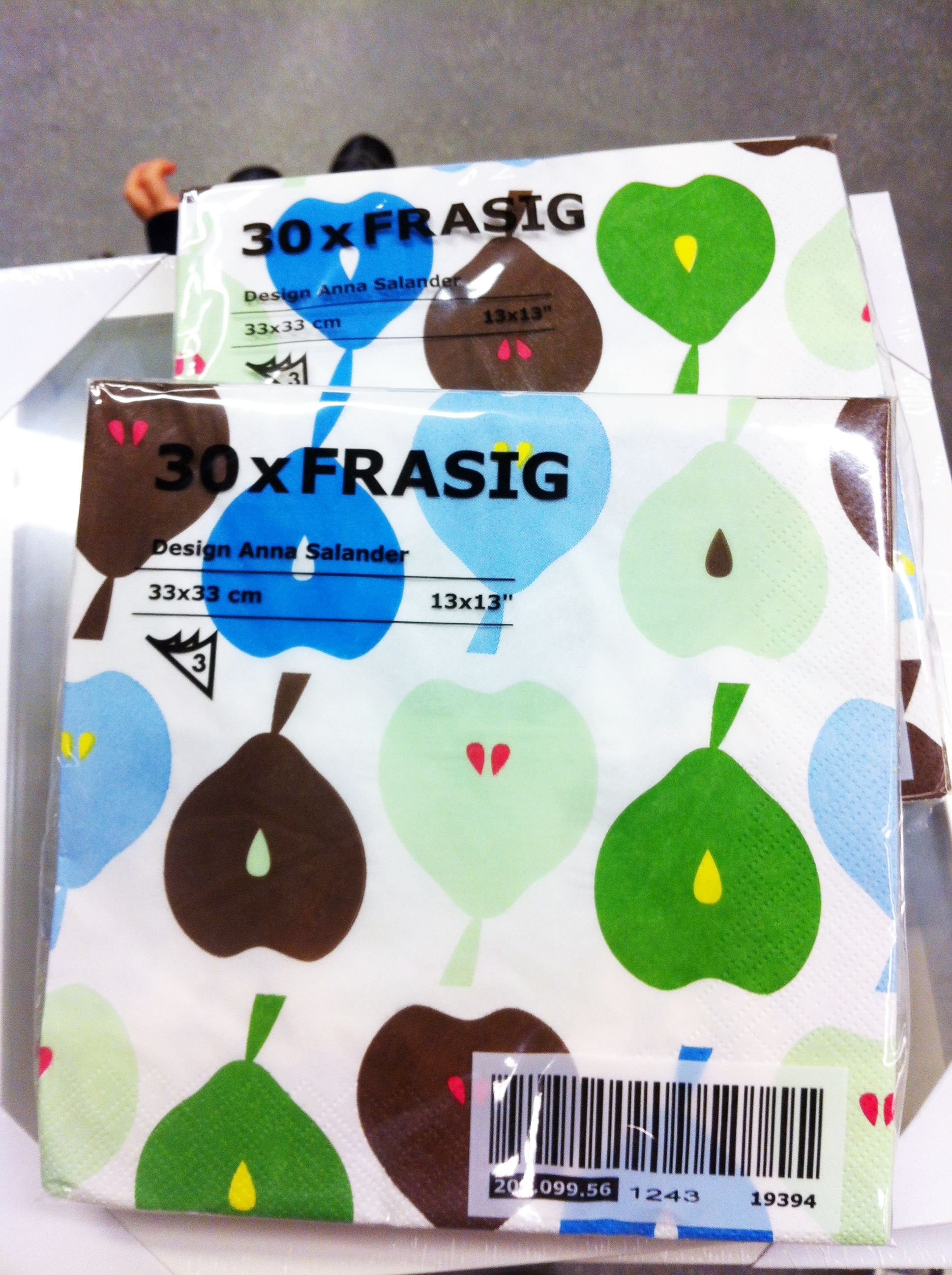 Cute pear napkins IKEA Home Inspiration Pinterest
