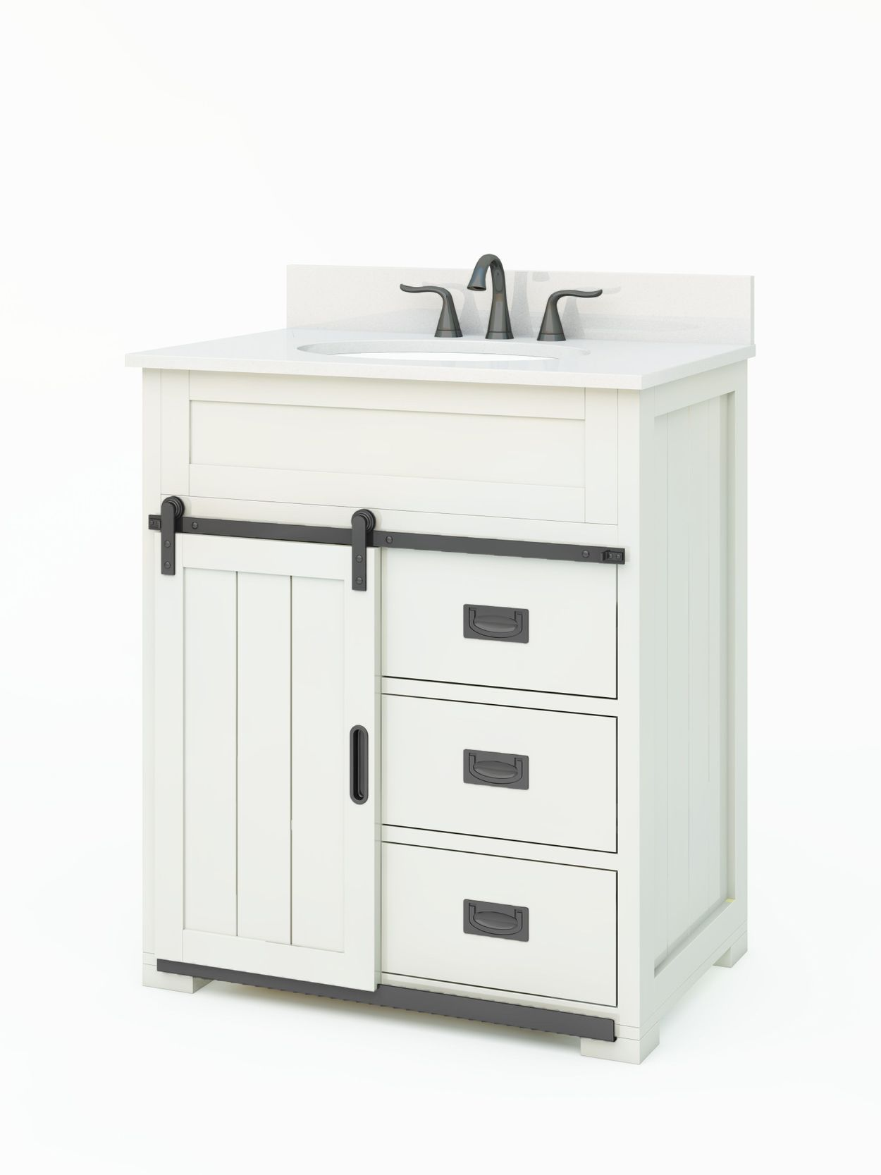 Style Selections Morriston 30 In White Single Sink Bathroom Vanity With White Engineered Stone Top Lowes Com Bathroom Sink Vanity Bathroom Vanity Single Sink Bathroom Vanity