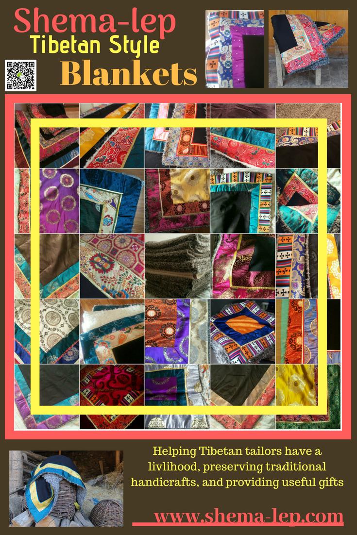 Custom Blankets Made By Tibetan Tailors