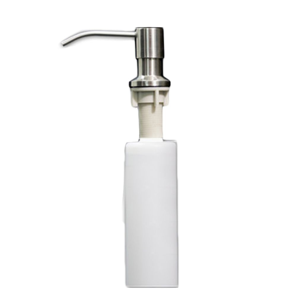 1Pcs Kitchen Sink Soap Dispenser  Stainless Steel Head  Abs Custom Kitchen Sink Soap Dispenser Review