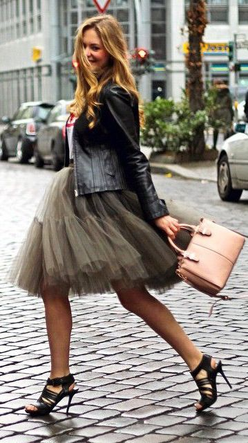 23f3d328a The Tulle Skirt. It Doesn't Get More Feminine Than That - Just The Design