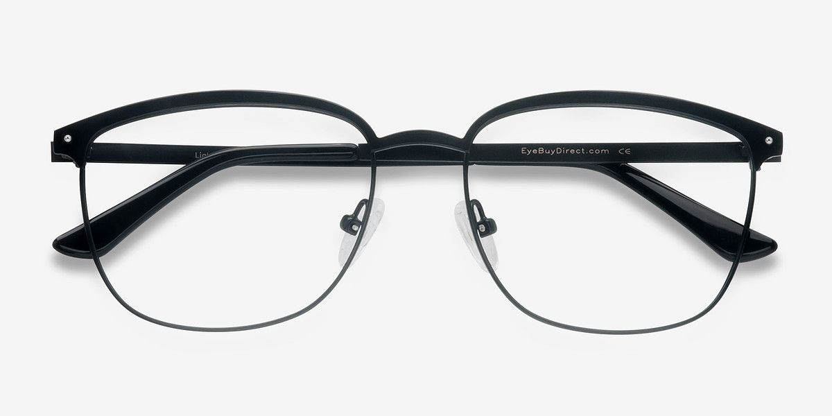 70b8f8876d8f Lightbeam Black Metal Eyeglasses from EyeBuyDirect. Discover exceptional  style, quality, and price. This frame is a great addition to any collection.
