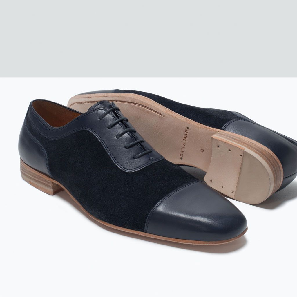 Zapatos Pinterest Shoe Shoes Combined Oxford Zara Man Fn1qzY