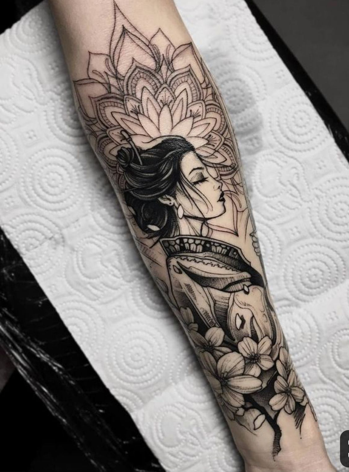 Pin By Lim Kai On Geishas Forearm Tattoo Women Arm Tattoos For Women Arm Tattoo