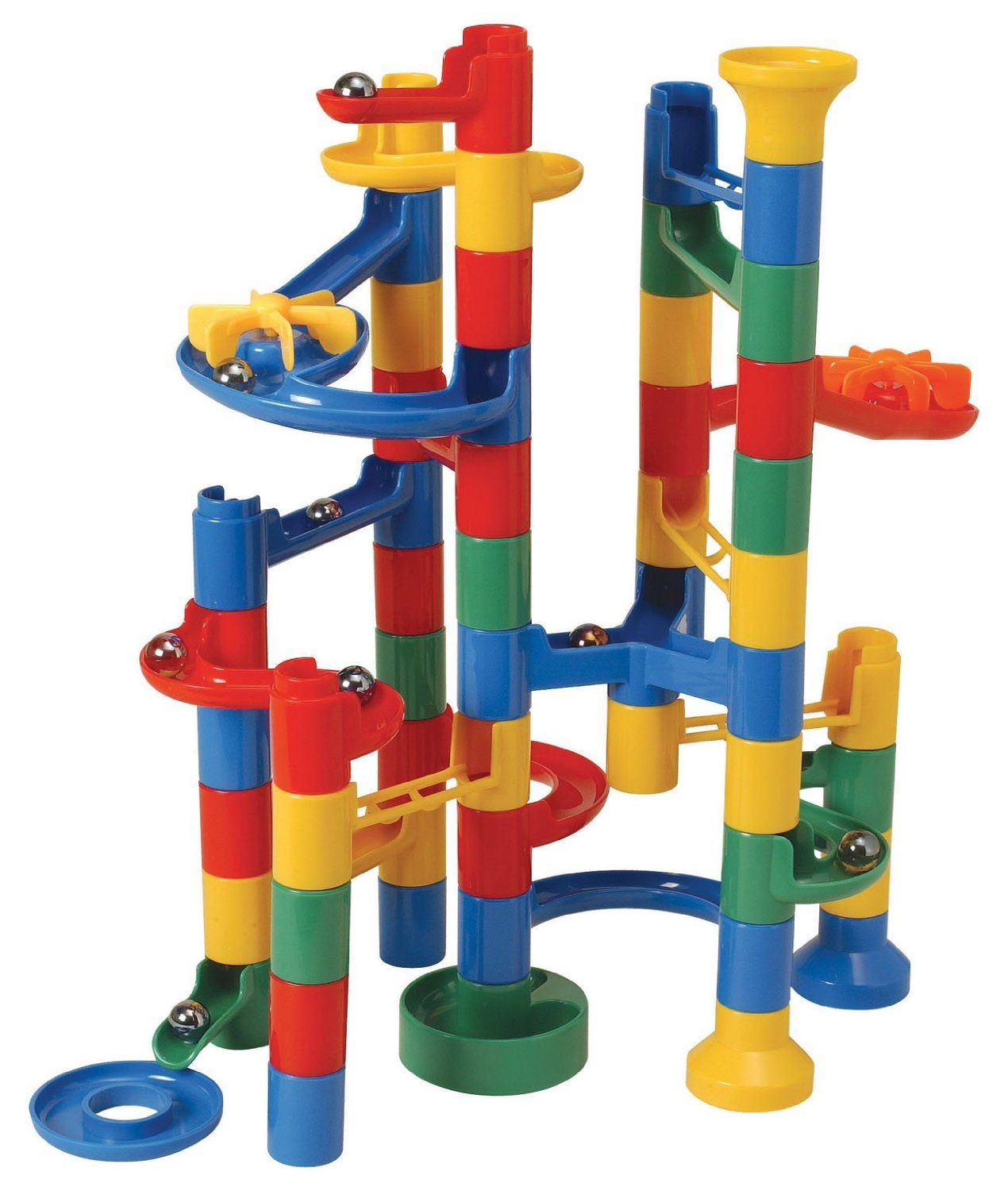 The plastic marble run game that I used to own. Marble