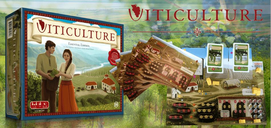 Afbeeldingsresultaat voor viticulture essential board game