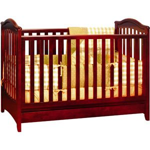 Athena Jeanie 3-in-1 Convertible Crib, Cherry. walmart. If they're boys.
