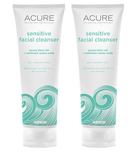 Acure Organics Natural Sensitive Face Wash Cleanser With