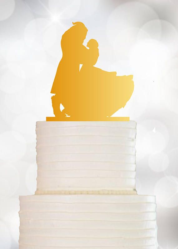 Beauty And The Beast Cake Topper Wedding Cake Topper | Beauty and ...