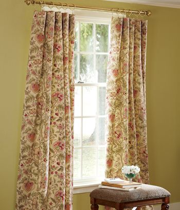 Hatfield Lined Rod Pocket Curtains Country Curtains Country