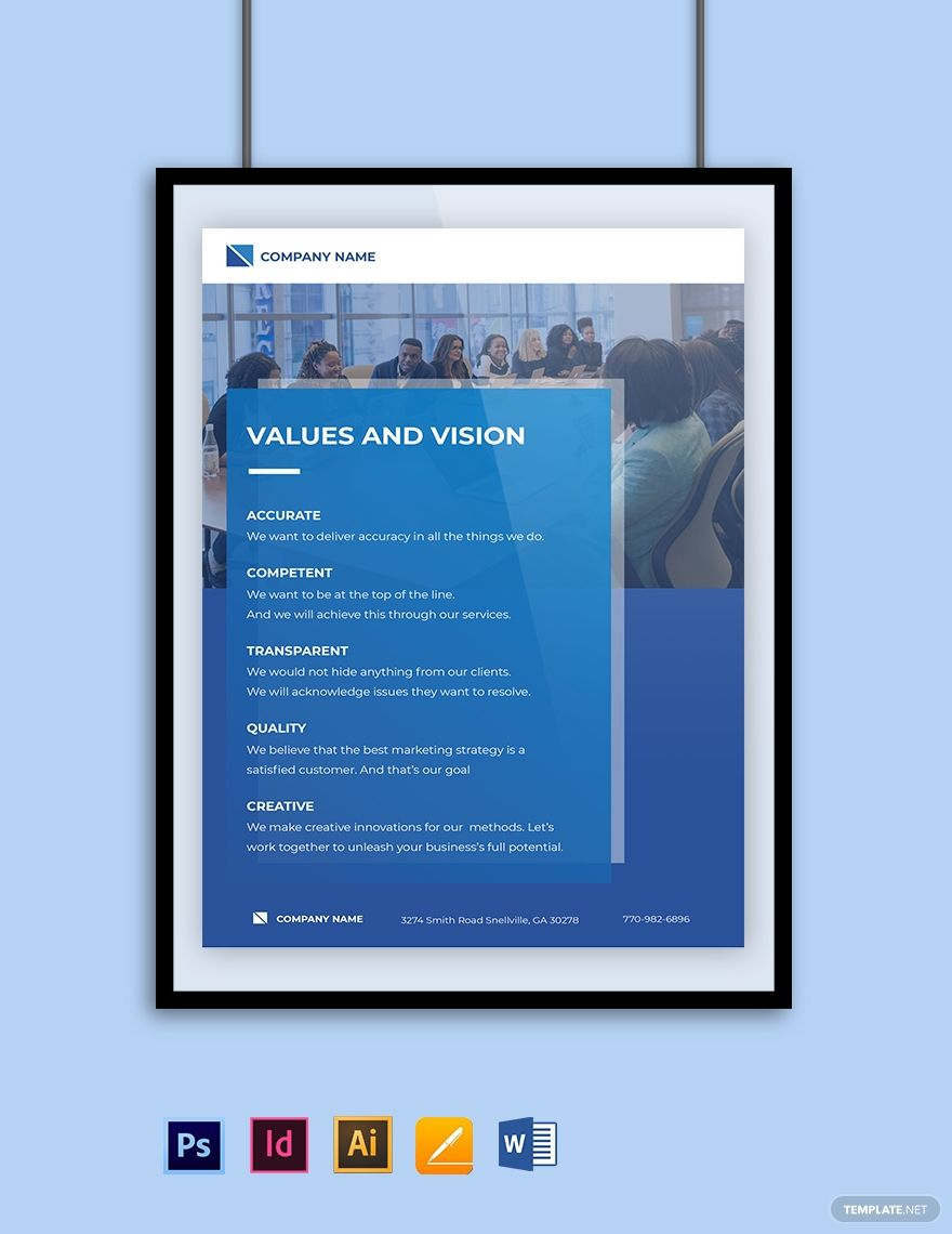 Software Company Poster Template In 2020 Poster Template Marketing Poster Templates