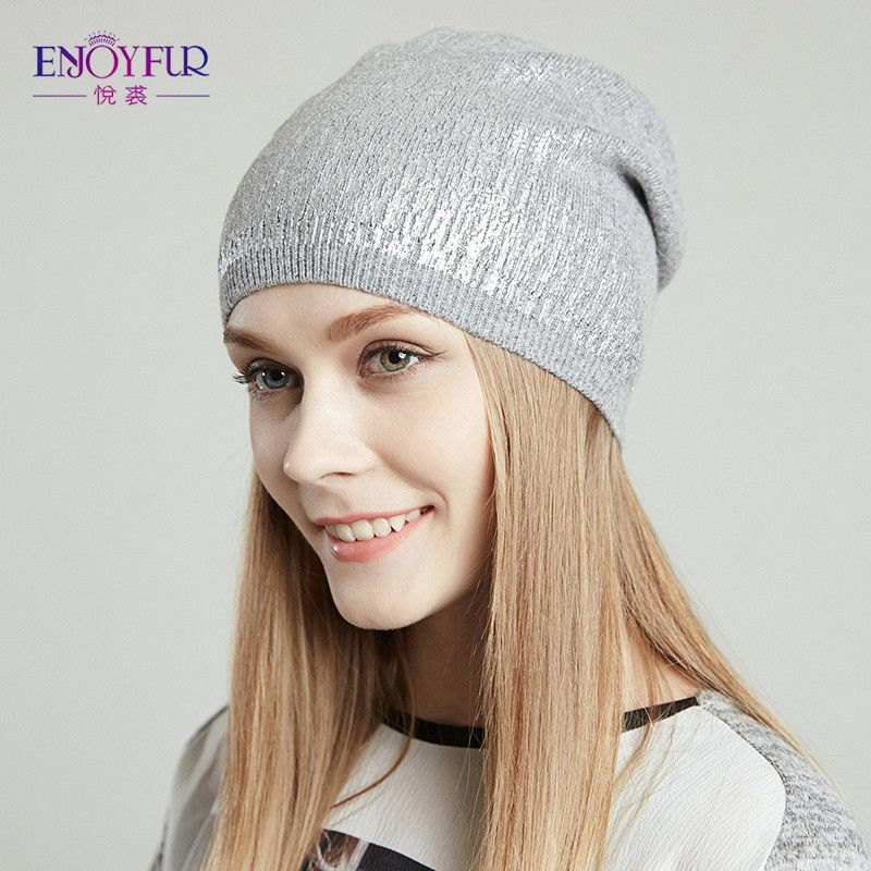 4fbf0b1c504f64 Women's beanies hats for Spring and Autumn knitted with wool Europe and America  fashional caps 2017
