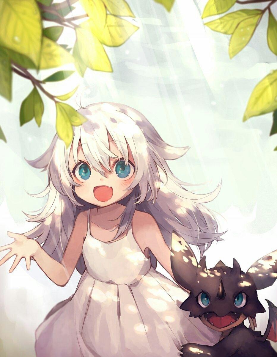 Аниме картинки маленькие девочка