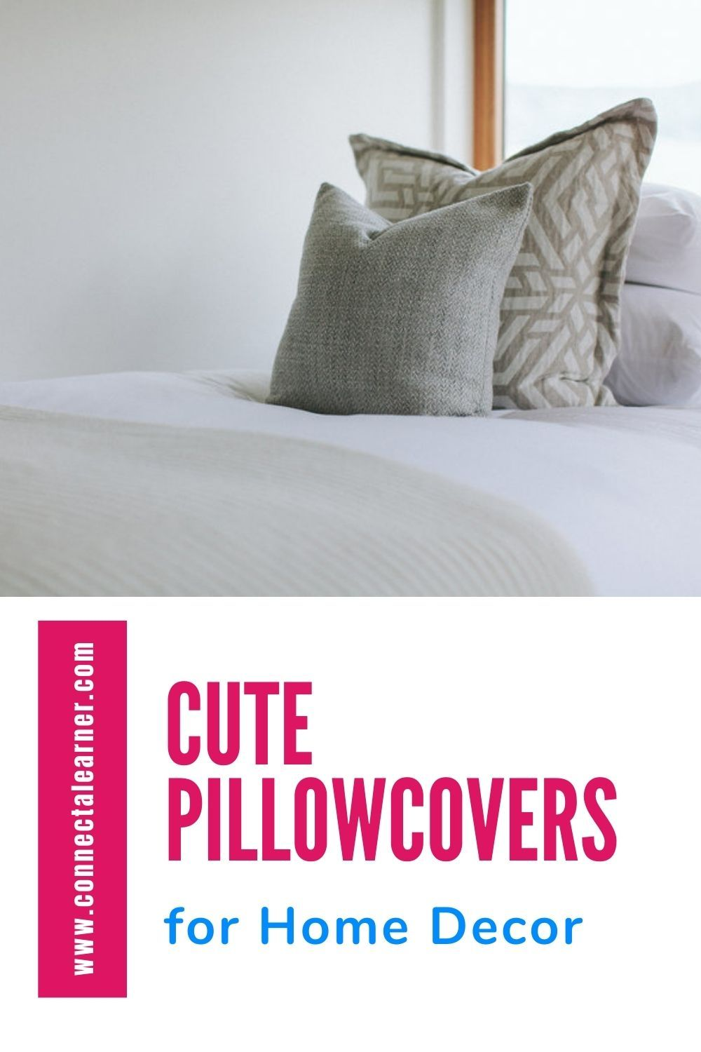 They are low-cost, super versatile, and can be changed out depending on the occasion and your mood. #Roomdecor #housedecoration #DecorationIdeas room_decor_ideas #Pillowcovers