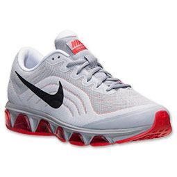 check out 7f128 e6554 Men s Nike Air Max Tailwind 6 Running Shoes   Finish Line   Wolf Grey Black Chilling  Red