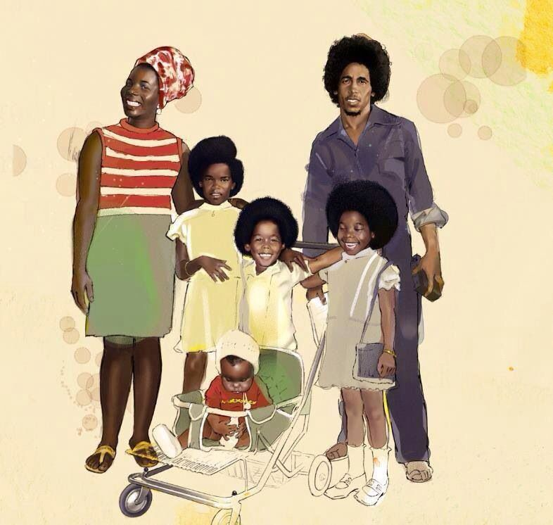 Marley Family ... Such a beautiful family ❤️