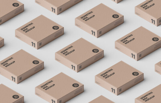 Download Isometric Boxes Mockup Mockup World Free Packaging Mockup Box Mockup Free Mockup
