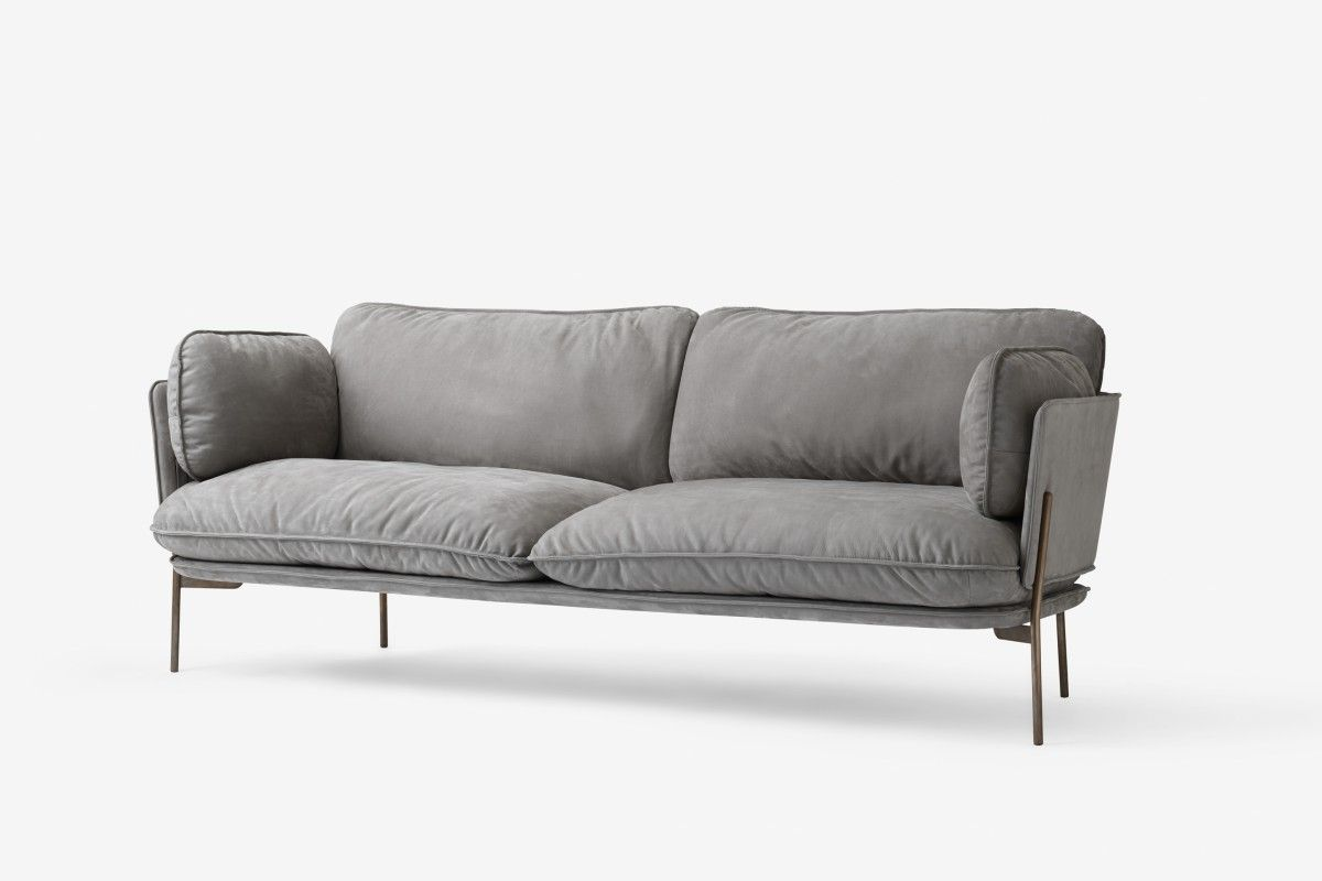 Beautiful Contemporary Modern Sofa That S Visually Light Airy But Also Welcoming Cloud By Italian Designer Luca Nichetto With Steel Legs