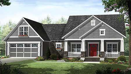 images about Extérieur maison on Pinterest   Craftsman  Red       images about Extérieur maison on Pinterest   Craftsman  Red Doors and White Trim