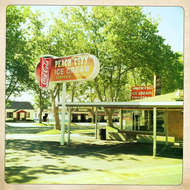 Salt Lake City Utah Houses: Peach City Ice Cream, Brigham City Utah #buyahomeinutah