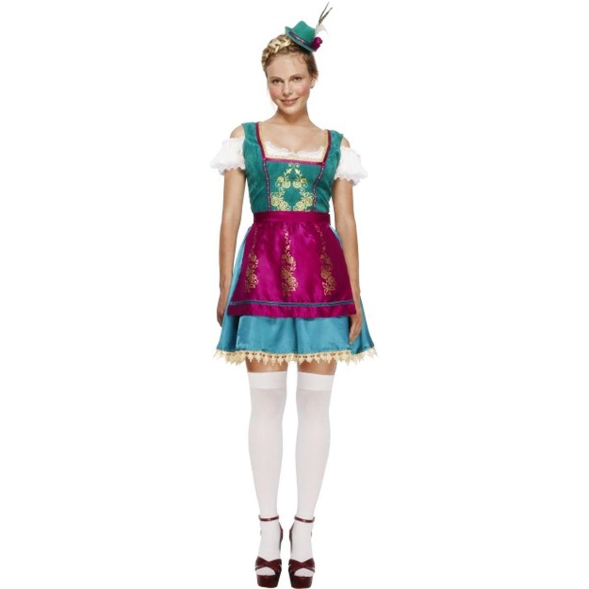 Fever Deluxe Dirndl Costume  060c5183726
