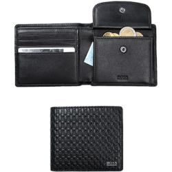 Photo of Boss men's wallet, cowhide, black Hugo Boss