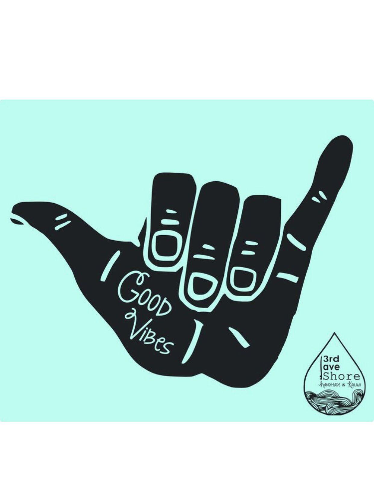 Yo It S Ya Girl Magen In 2019 Shaka Sign Surf Art