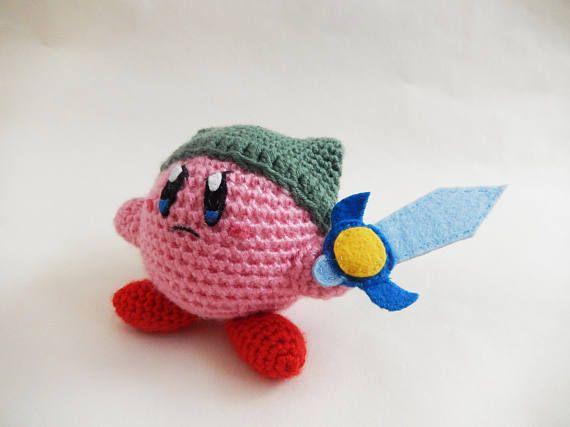 Amigurumi Nintendo : Kirby link amiibo amigurumi link legend of zelda breath of the