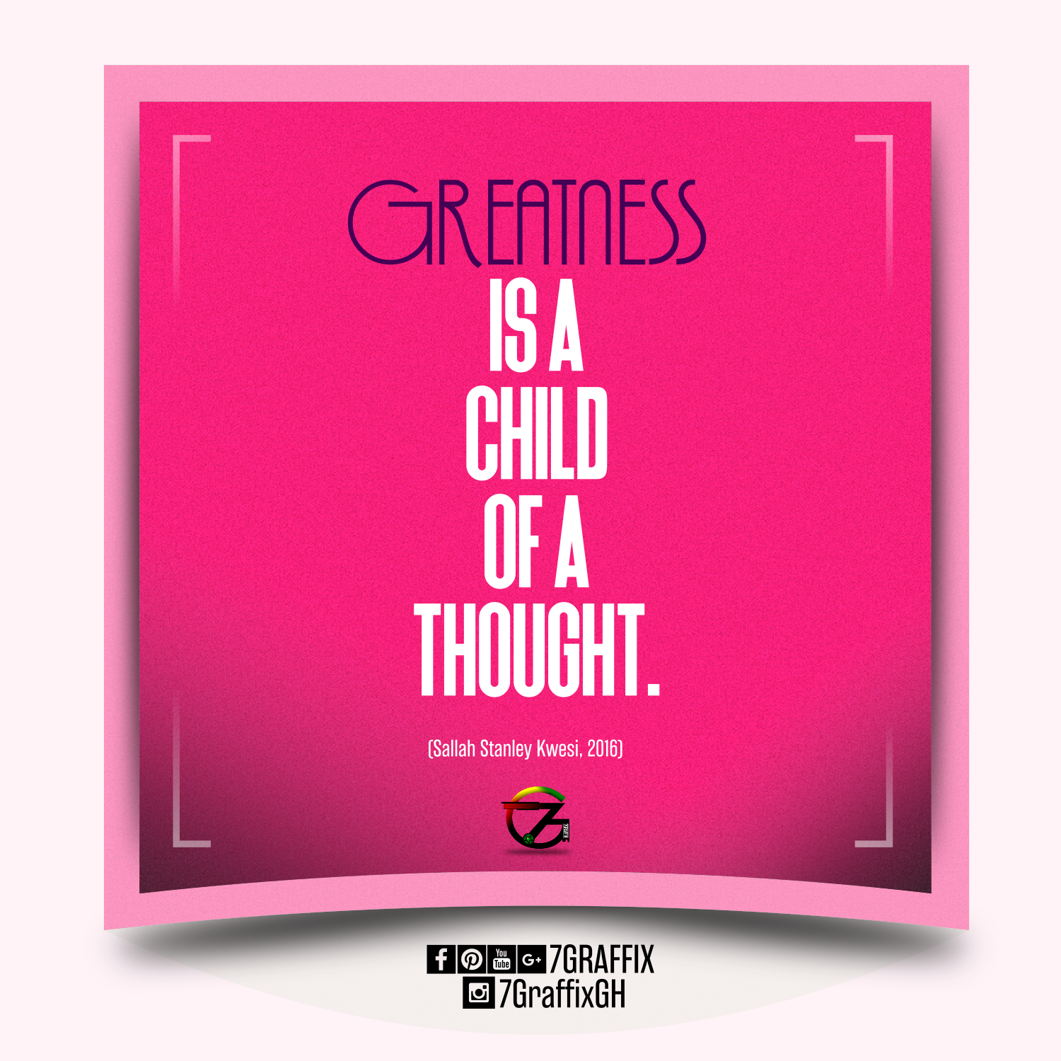 Daily Inspirational Messages Designs By 7graffix Sallah Stanley
