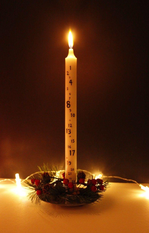 Danish Advent Hygge Christmas Scandinavian Christmas Decorations Christmas Candle Decorations