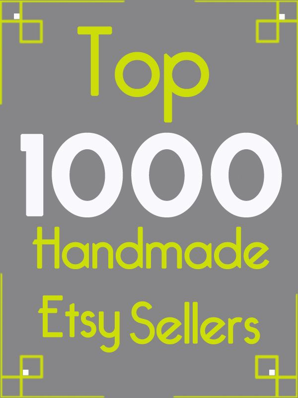 Best Sellers Kylie Cosmetics: Top 1000 Handmade Etsy Sellers Of 2011. There Are