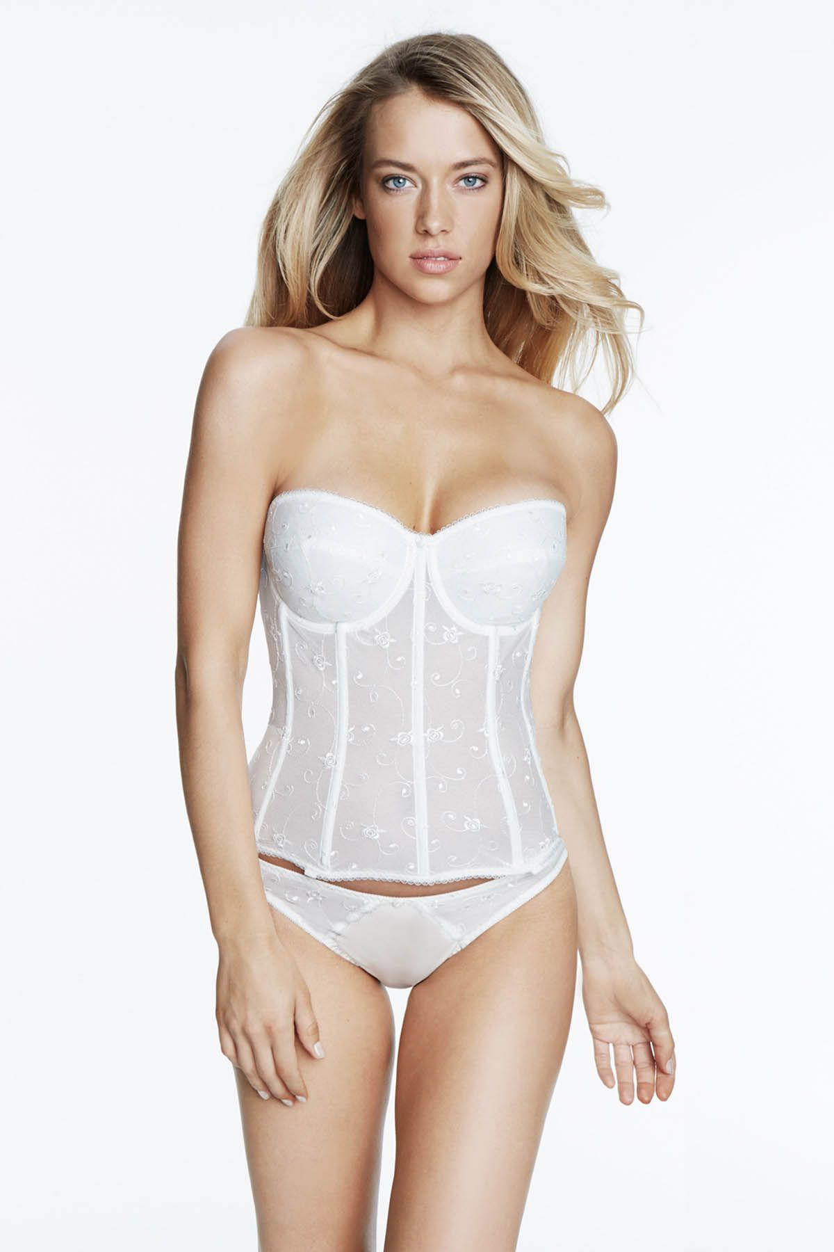 Too much cleavage wedding dress  DOMINIQUE Rosemarie  Clothes for Women with Boobs  Pinterest