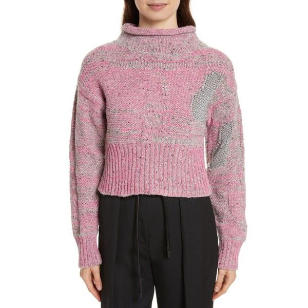 Women's 3.1 Phillip Lim Wool Blend Funnel Neck Sweater ($450 ...