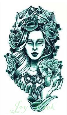 Купить Водонепроницаемый временные татуировки наклейки в боди арт рука ведьма татуировки переноса воды татуировки фальшивки вспышка татуировки для девочки женщины мужчиныи другие товары категории Временные татуировкив магазине Joy weekнаAliExpress. Временные татуировки