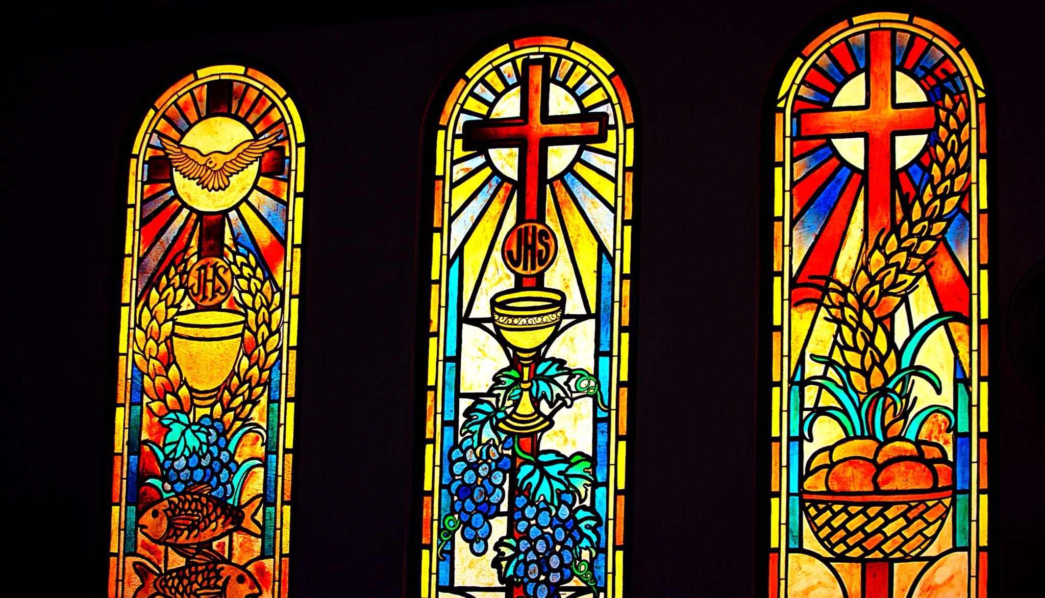 Stained Glass San Diego.Stained Glass Windows Of The Church Of San Diego Silay City