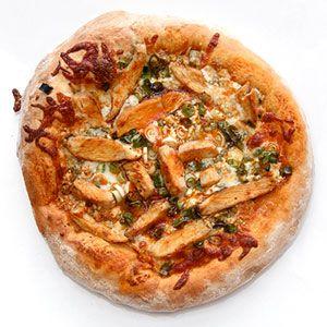 Buffalo Chicken Pizza Recipe - Super Bowl Recipes - Good Housekeeping