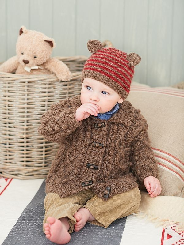 King Cole Baby Book 4 | Baby sweater patterns, Knit baby ...