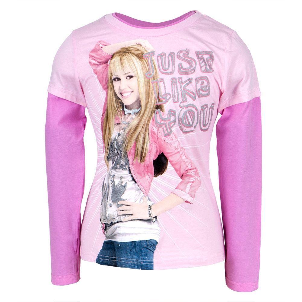 Hannah Montana Girls Glam Glitter Youth Hoodie