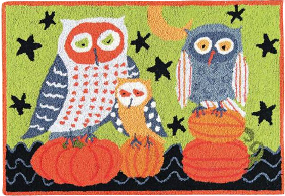 "One of my favorite ""Hootenanny Owl"" designs"