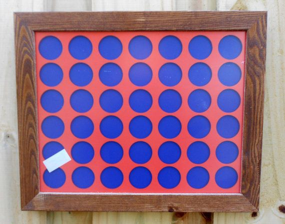 Poker Chip Display Frame insert for 42 Casino by CarvedByHeart