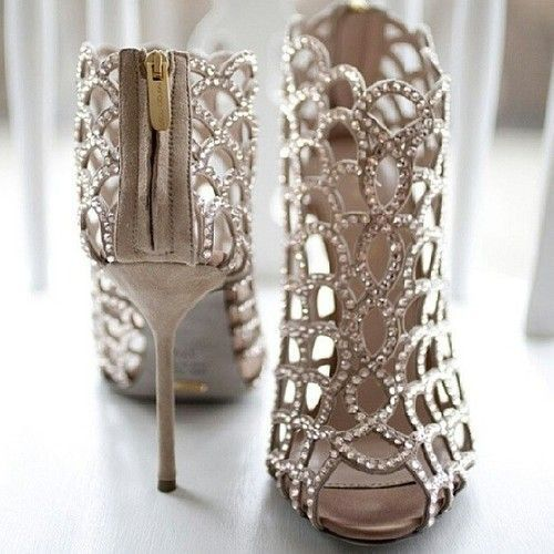 Step Up: The Best in Bridal Shoes | Wedding shoes, Bling wedding ...