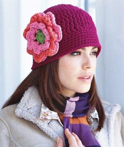 modele-crochet-gorro-femme (10) | GORROS | Pinterest