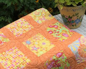 Quilts, Handmade Quilts, Kaffe Fasset Quilt, Quilts and Coverlets ... : floral quilts for sale - Adamdwight.com