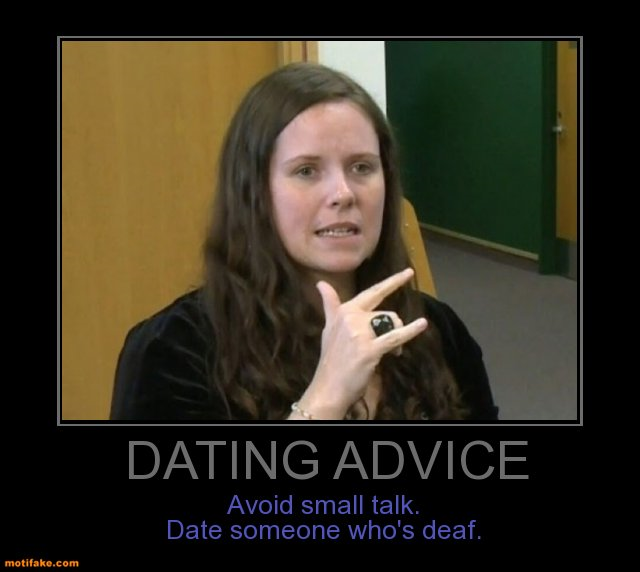 deaf person dating site