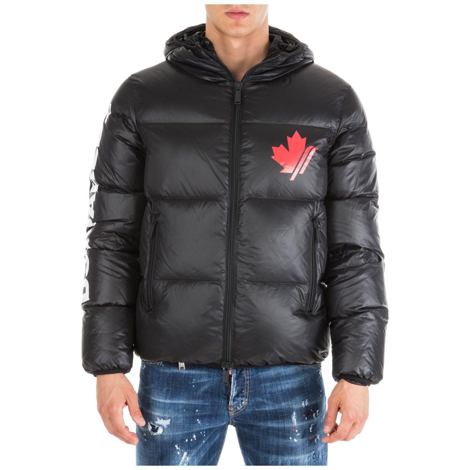 Dsquared2 Men S Outerwear Down Jacket Blouson Hood Dsquared2 Cloth Down Jacket Jackets Mens Jackets [ 1600 x 1600 Pixel ]