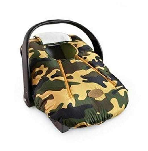 Camo Cozy Cover Car Seat Carrier Baby Shower Gift For Winter Infant New Zipup
