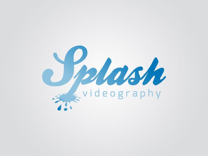 swimming pool logo design. Interesting Pool Splash Videography For Swimming Pool Logo Design