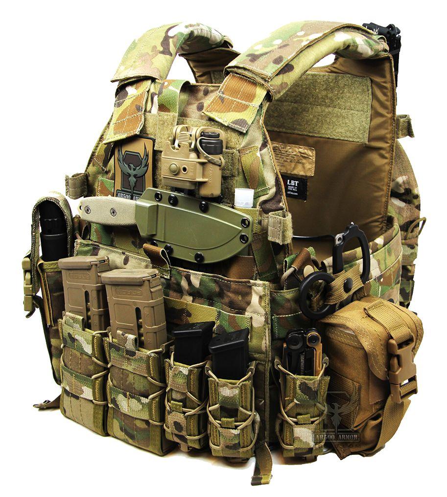 LBT Plate Carrier running AR500 Armor® Level III Body Armor  916b8d694fe
