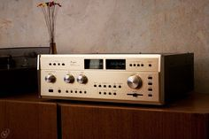"""Accuphase - E-303, Vintage Audiophile High End Amplifier"" !... http://about.me/Samissomar"